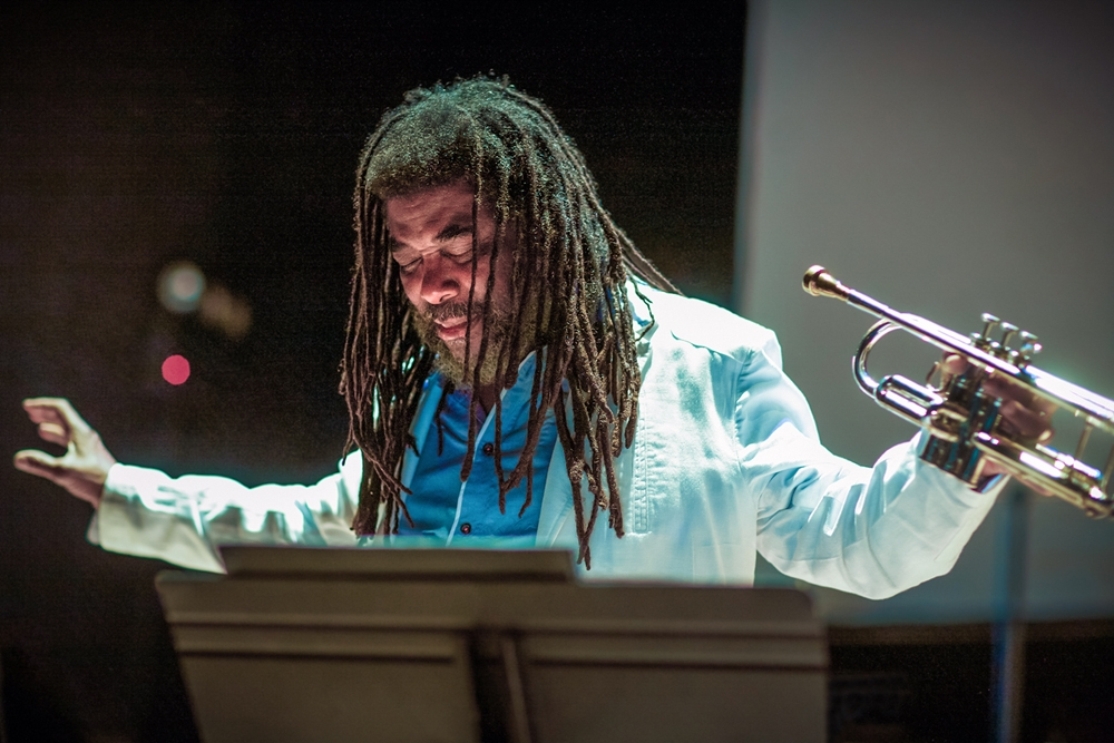 - TEN FREEDOM SUMMERS performed by Wadada Leo Smith's Golden Quartet and RedKoral String Quartet with video images by Jesse Gilbert on Loyola University on October 13, 2018