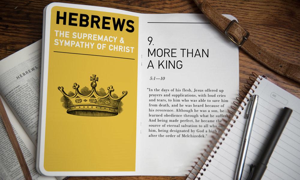 2 Pillars Church — More Than a King