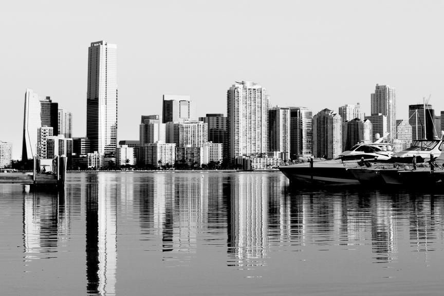 EdJohnston-Miami-Skyline-Reflection-BW-0987w.jpg