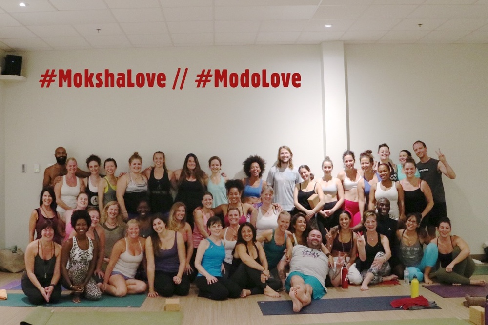 This amazing group of Moksha/Modo teachers rocking' our Live-2-Learn Pillar.  Thank you Moksha Yoga Brantford and Moksha Yoga Cambridge for putting this together and having me out.
