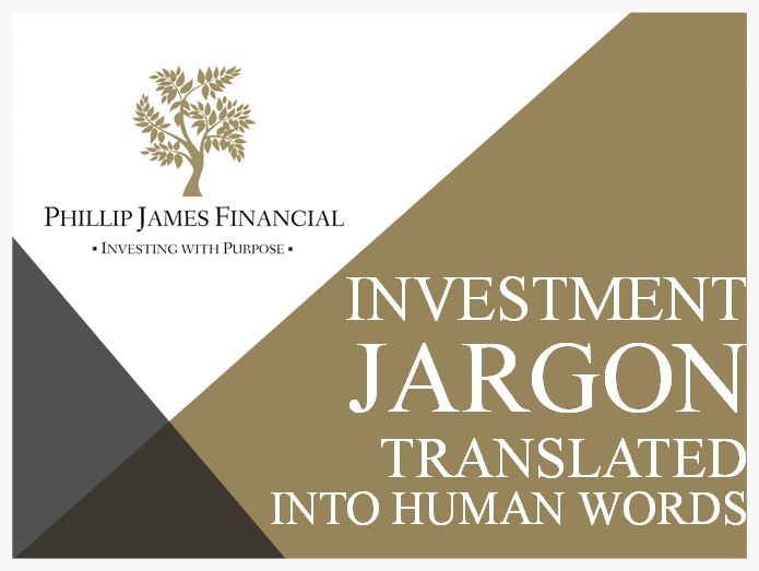 investment words explained