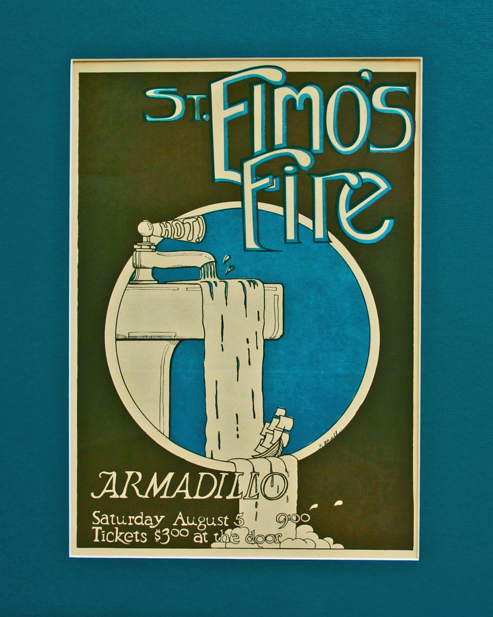 St. Elmo's Fire Band Poster