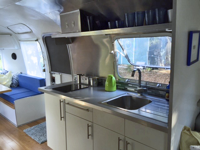 Kitchen view from rear
