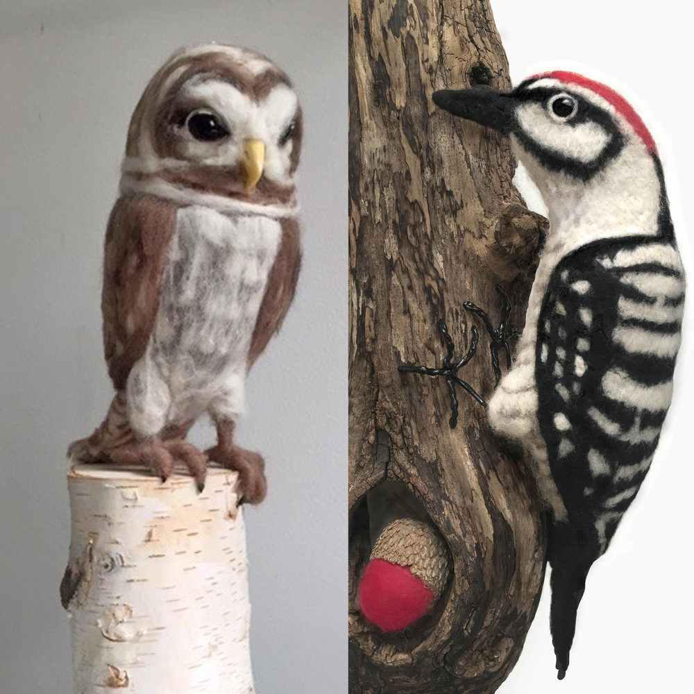 Felted Owl and Woodpecker.jpg