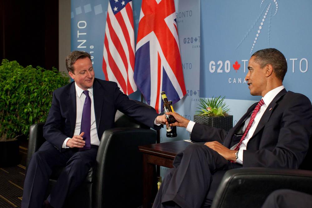 Obama and Cameron enjoy drugs legally.