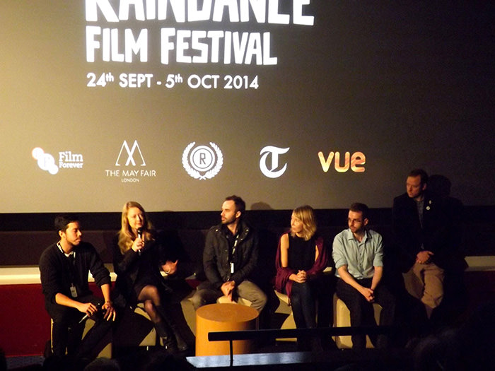 The Culture High Q&A at the Raindance Film Festival.