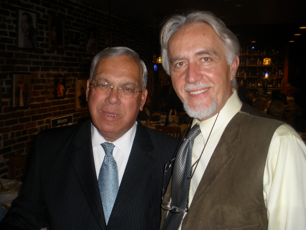 Dr. Adnan Zubcevic with Boston Mayor Menino during his campaign.