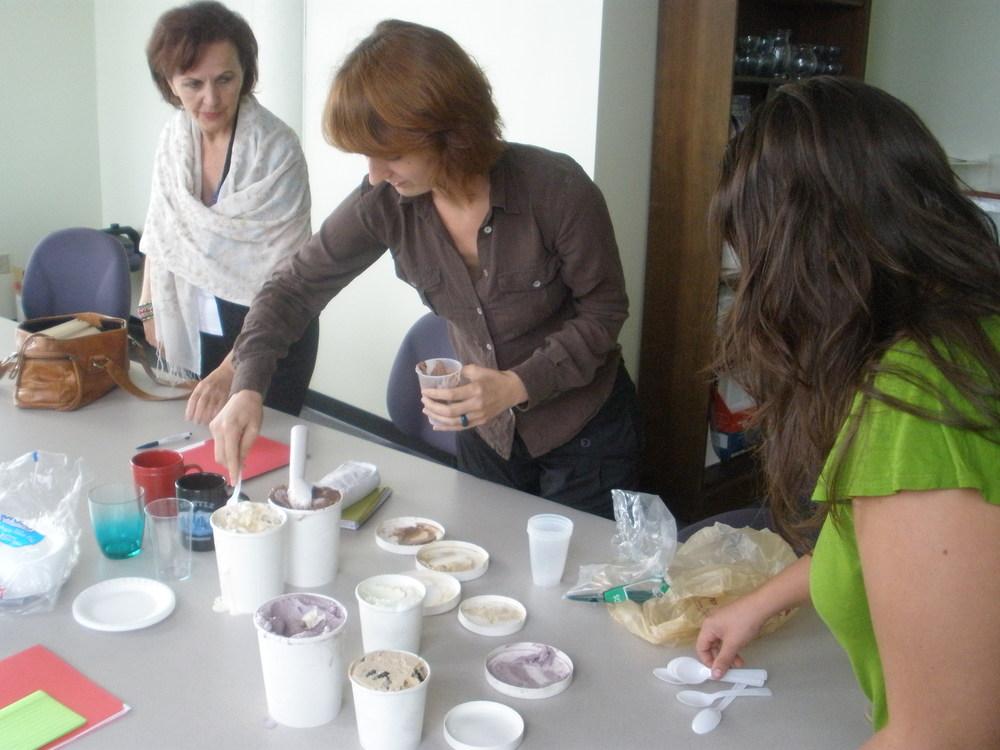 Alyssa Vigneault and Nerminka Muslija, former MECC Coordinators.
