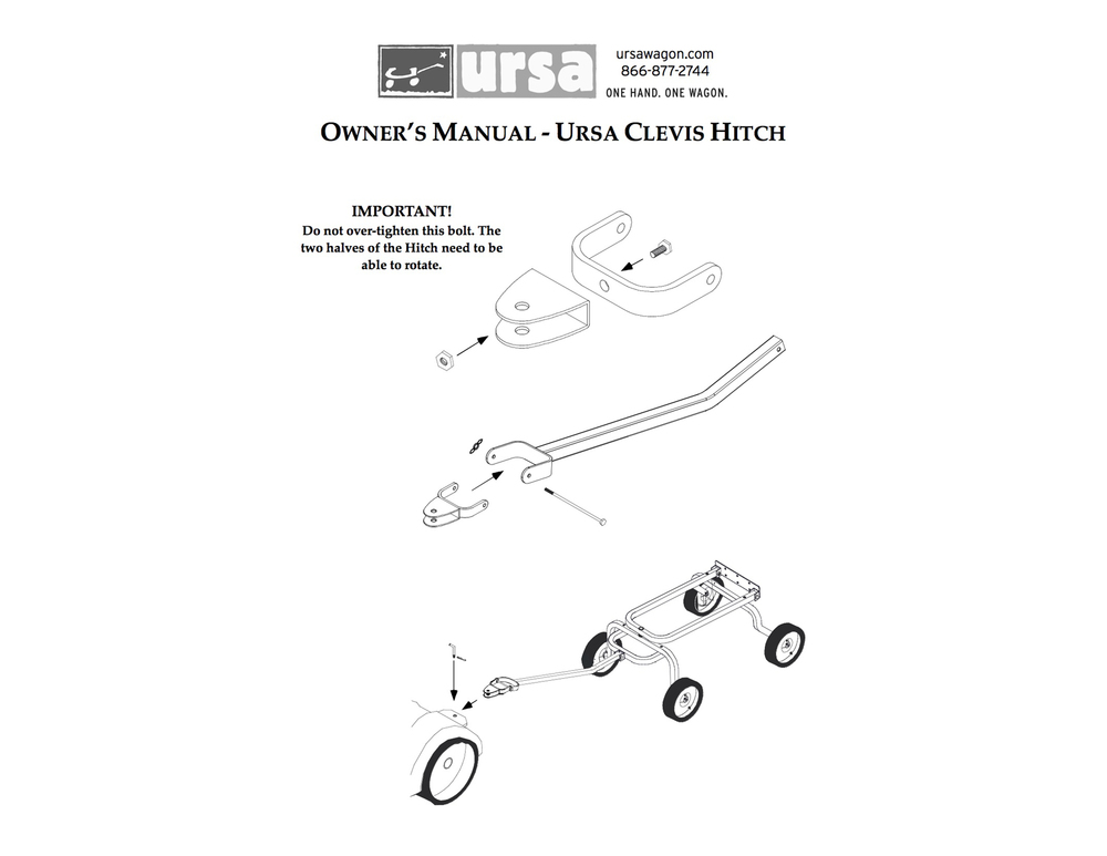 Clevis Hitch Manual