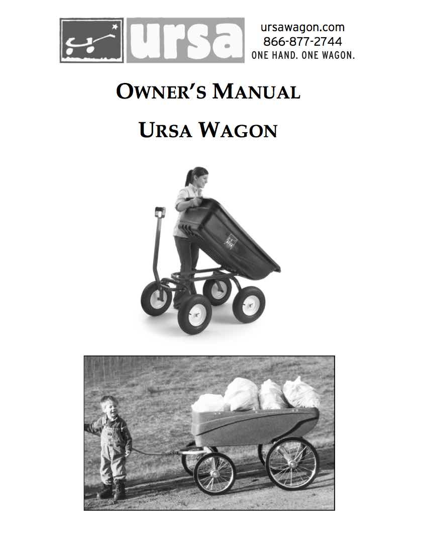 Turf and ThornBuster Wagon Manual
