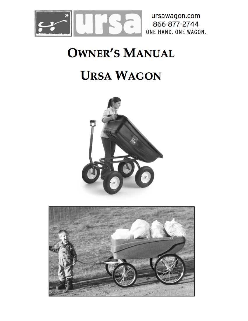 Turf and ThornBuster Wagon Manual