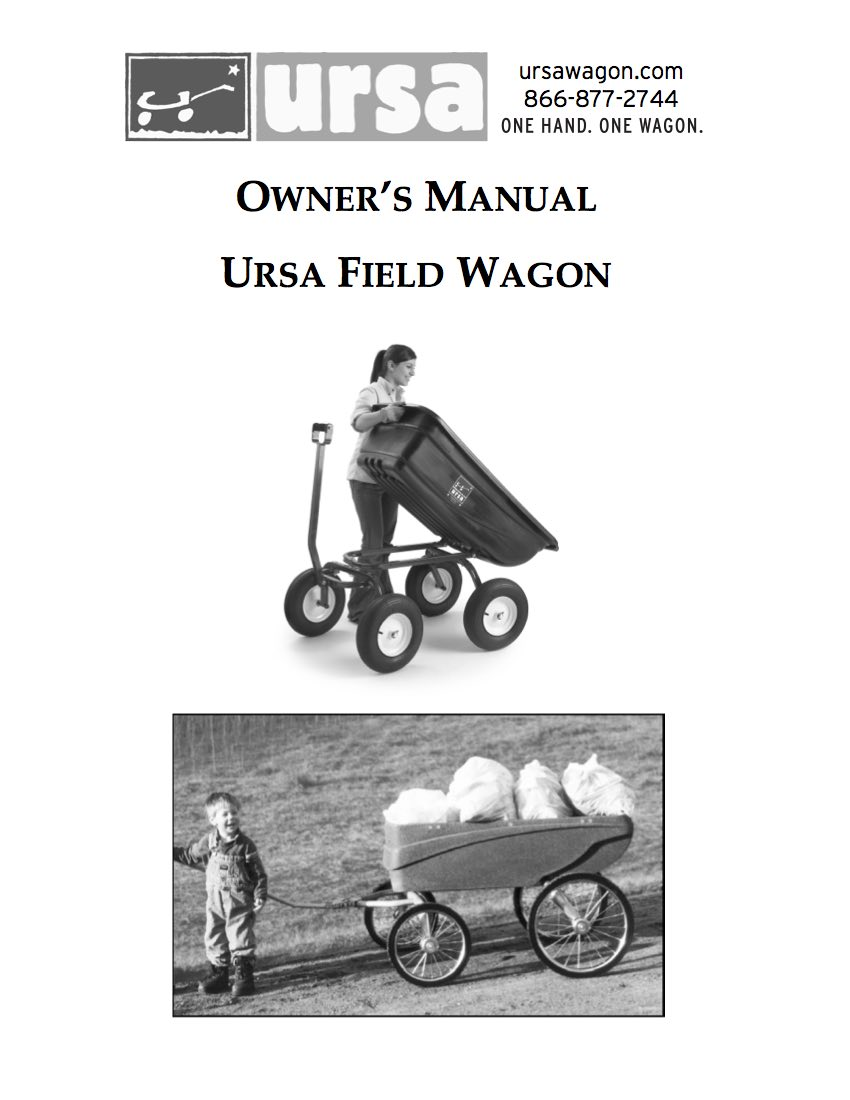 Field Wagon Manual