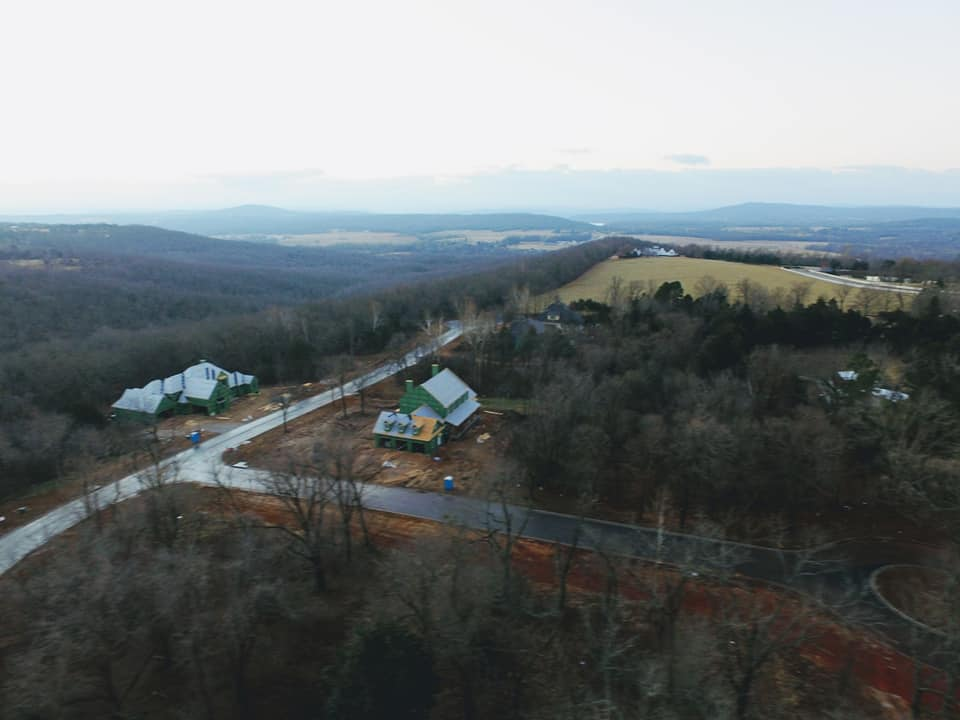 2865 N. Lubbock Ln. Drone Elevation Looking South