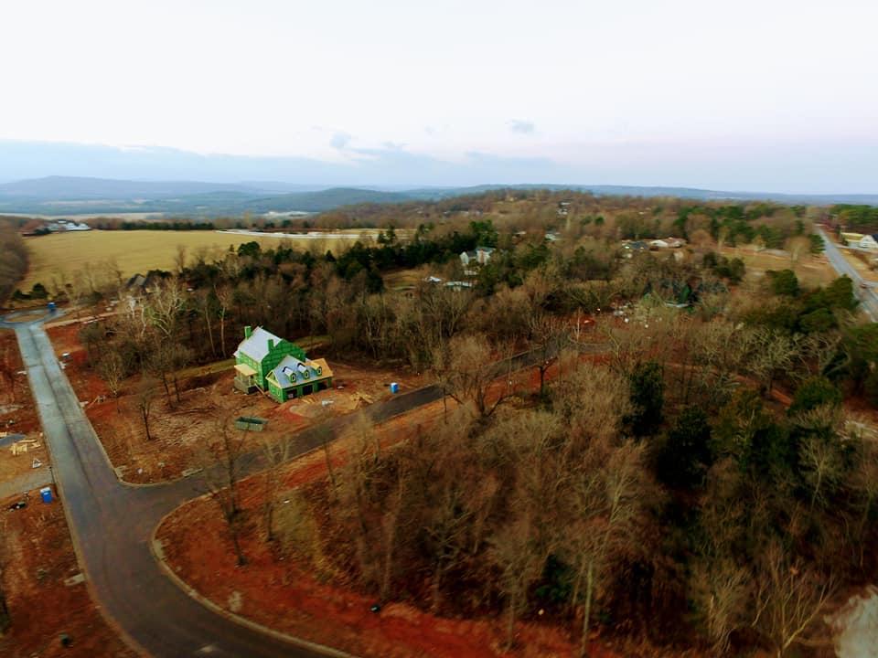 2865 N. Lubbock Ln. Drone Elevation Looking North