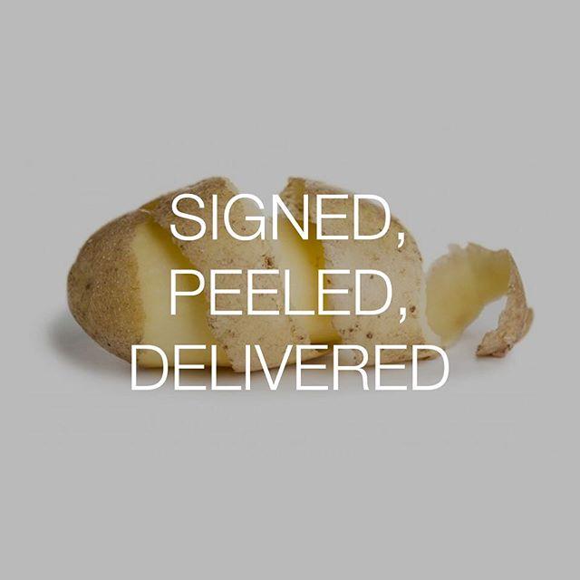 Thyme Yours! #talkingfood #friendlyfoods #potato #peel #signedsealeddelivered #steviewonder #bestofover #bestoftheday
