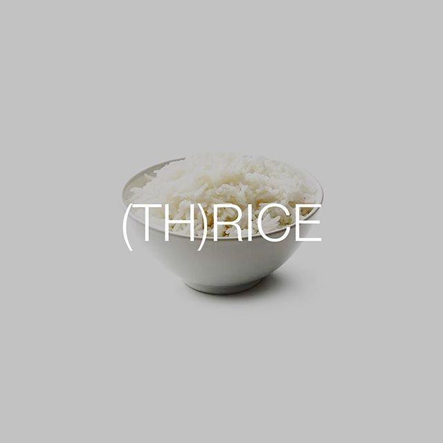 *sees a bowl of rice on the stage, looks around* I think I'm at the wrong concert.... #rice #thriceisnextweek #atadifferentvenue #thrice #talkingfood #friendlyfoods #bestofover #bestoftheday ...thanks for another good one @seventymeters 👏🏻🍚