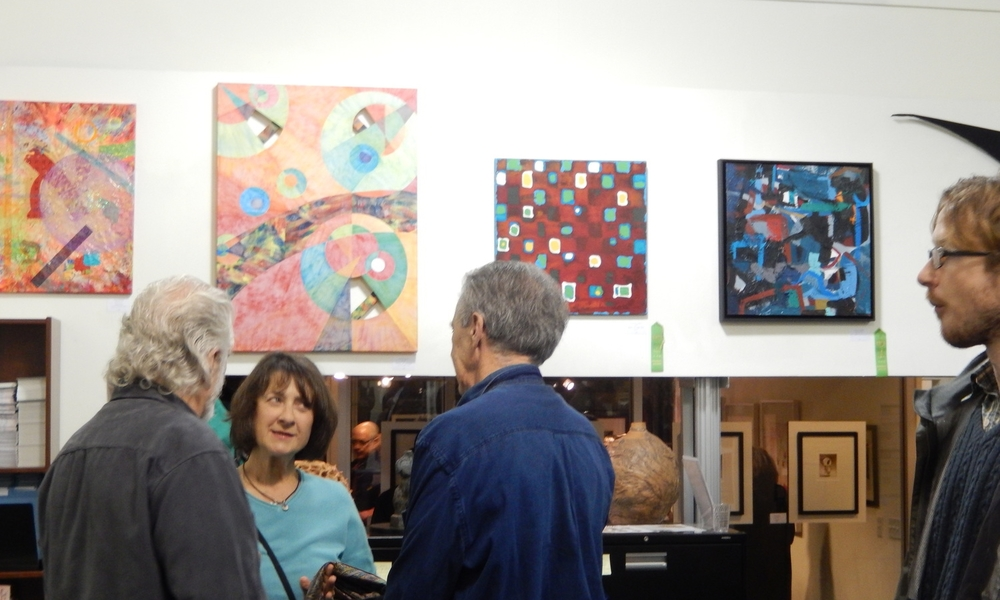 """Pacific Art League """"Abstractions: Pure Color, Shape, Form, and Imagination"""""""