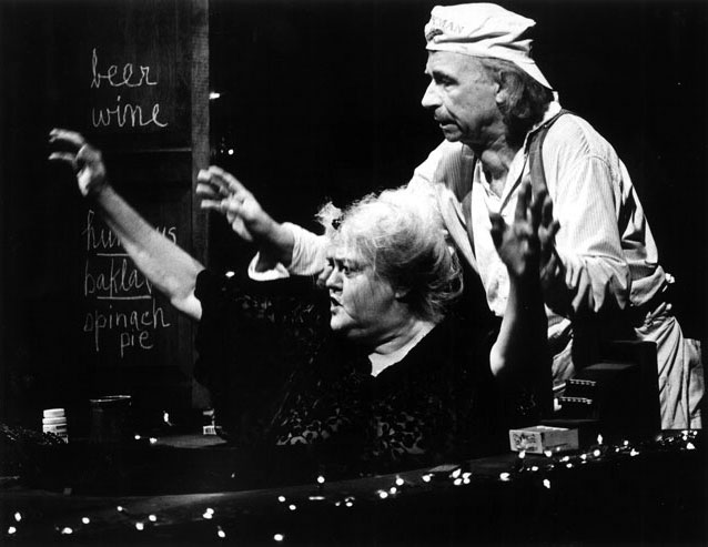 Lee Nagrin and George Bartenieff in a scene from Blue Heaven.