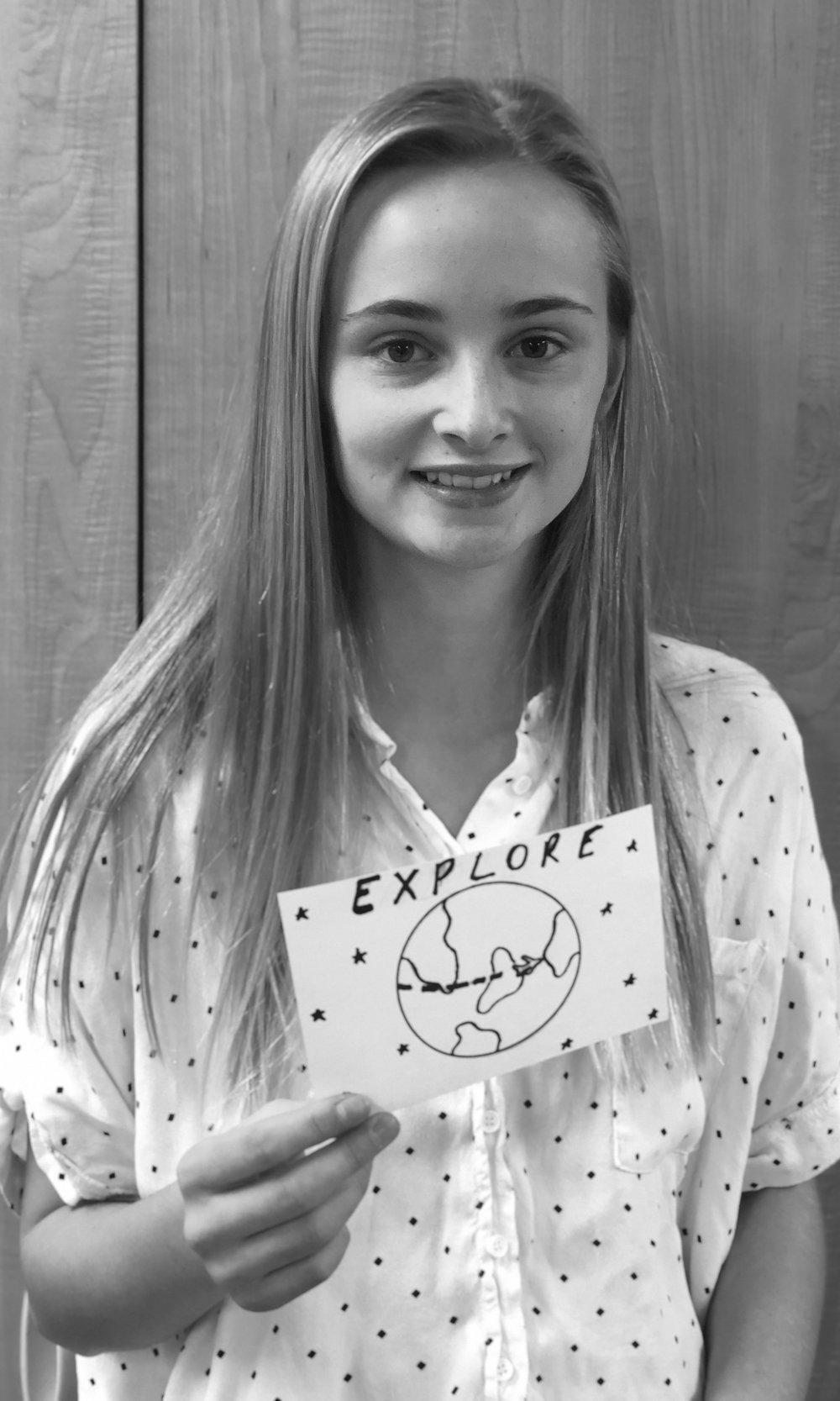 Peyton, 8th Grade