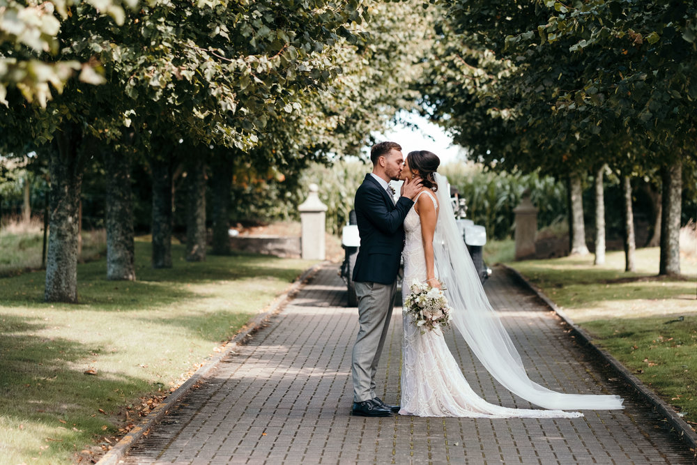 Francesca & Pierce - An intimate ceremony at a traditional family home