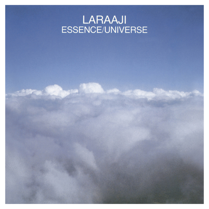 "Laraaji's classic ""Essence / Universe"" re-released on clear vinyl by All Saints Records London."