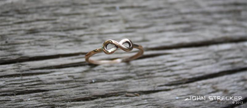 Bronze Infinity Ring