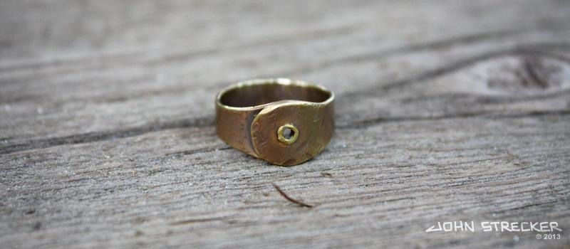Brass Industrial Rivet Ring