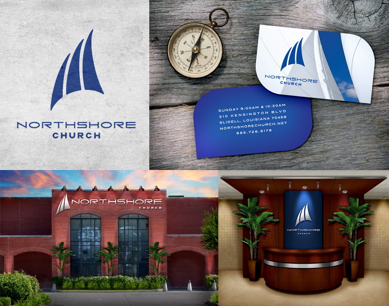 Northshore Church   Logo • Bizcard • Building & Visitor Center Rendering