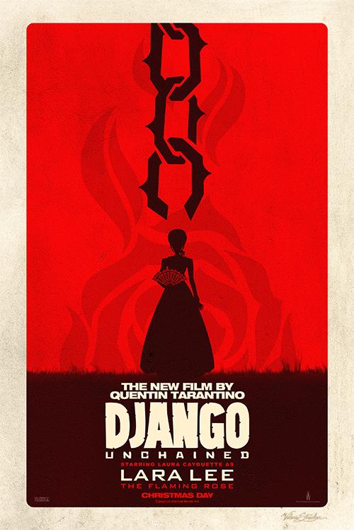 Django Unchained | Lara Lee Poster - Valerie Strecker