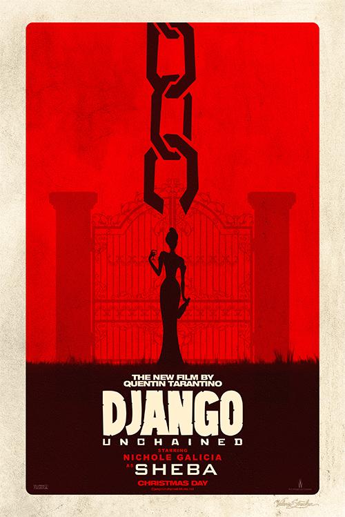 Django Unchained | Sheba Poster - Valerie Strecker