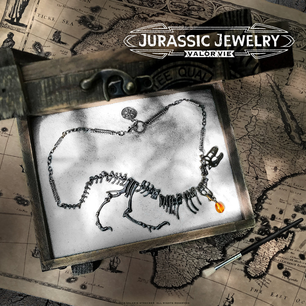 Valor Vie Jurassic Jewelry T-Rex Necklace 1.jpg