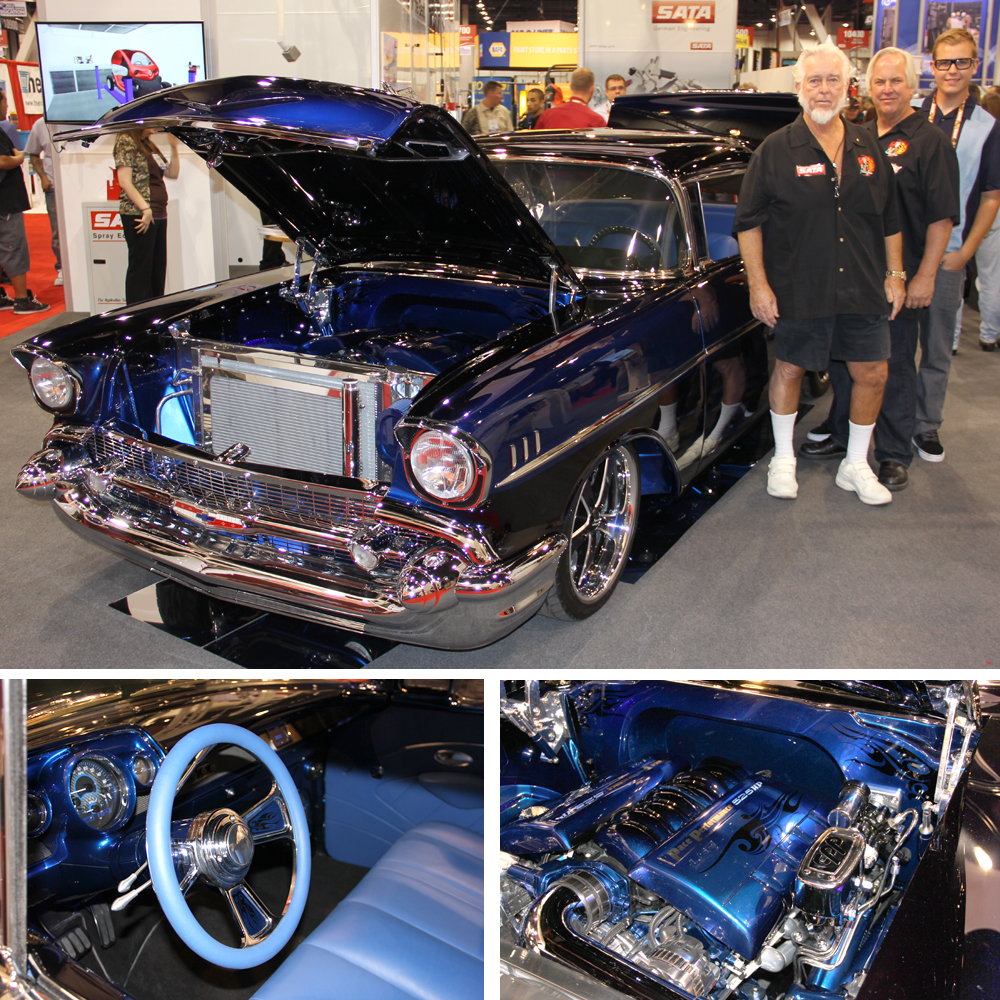 Unveiling the '57 at SEMA