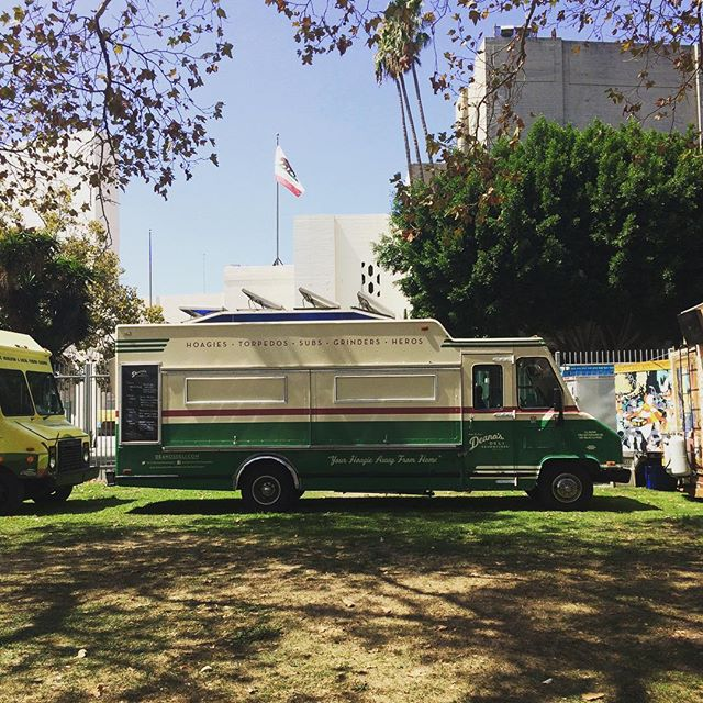 Peep our new spot today @fyffest along the main walkway! #allages #deli #hoagies #fyffest