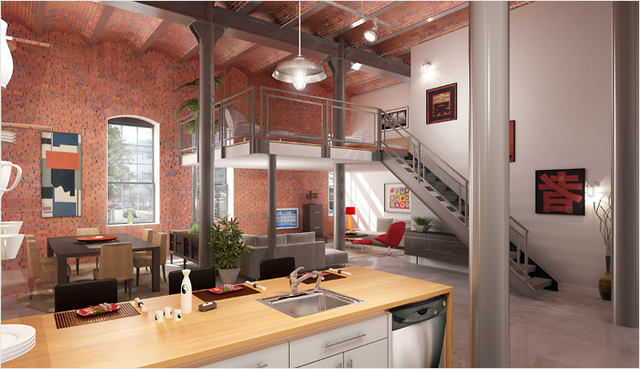 Hip lofts from around the globe los angeles real estate smilay properties - Loft new yorkais deco ...