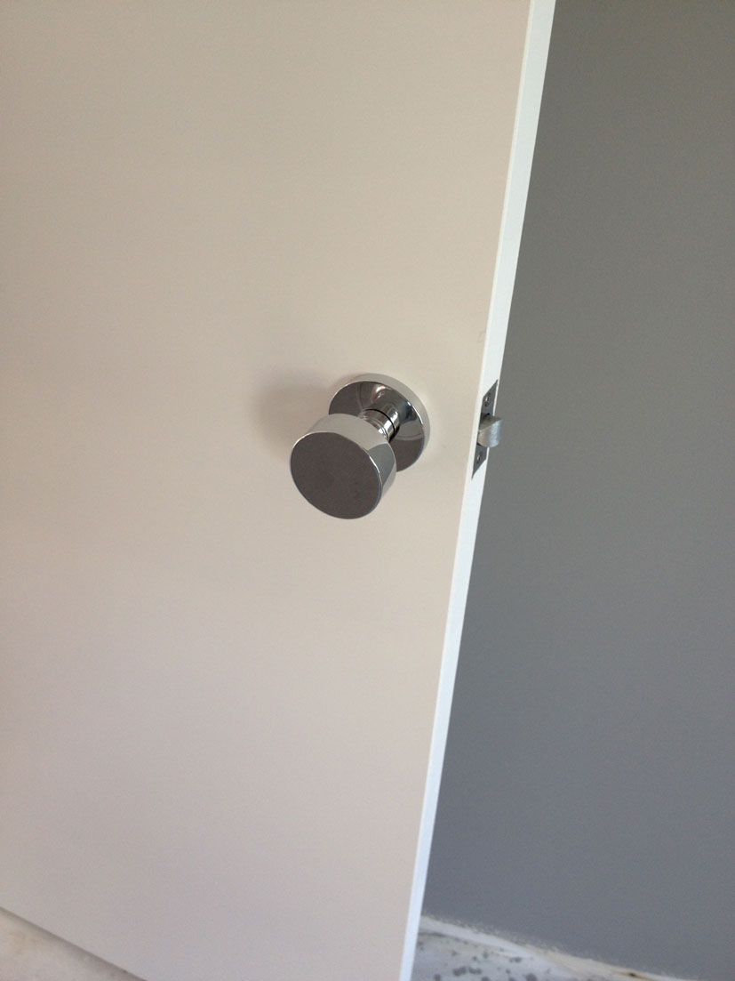 In case you were wondering, these are the doorknobs I decided to go with.  I think they look great.