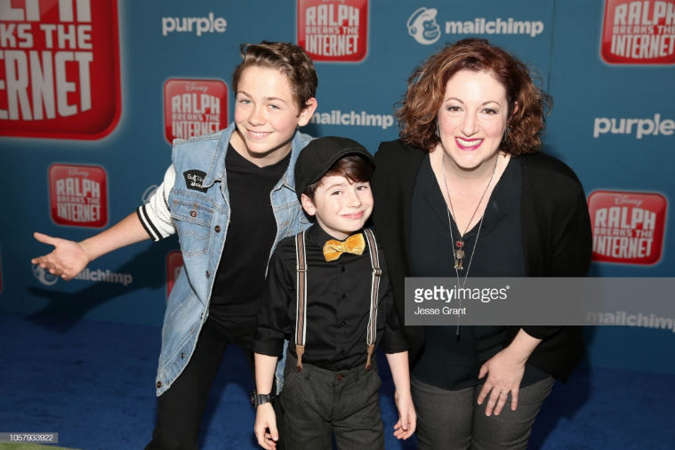 "Rebecca Metz, Dakota Lotus and Paxton Booth at the premiere of ""Ralph Breaks the Internet"""