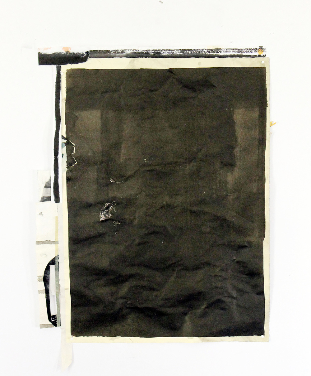 Letter (verso) , 2014, 19.5 X 15.5 in.
