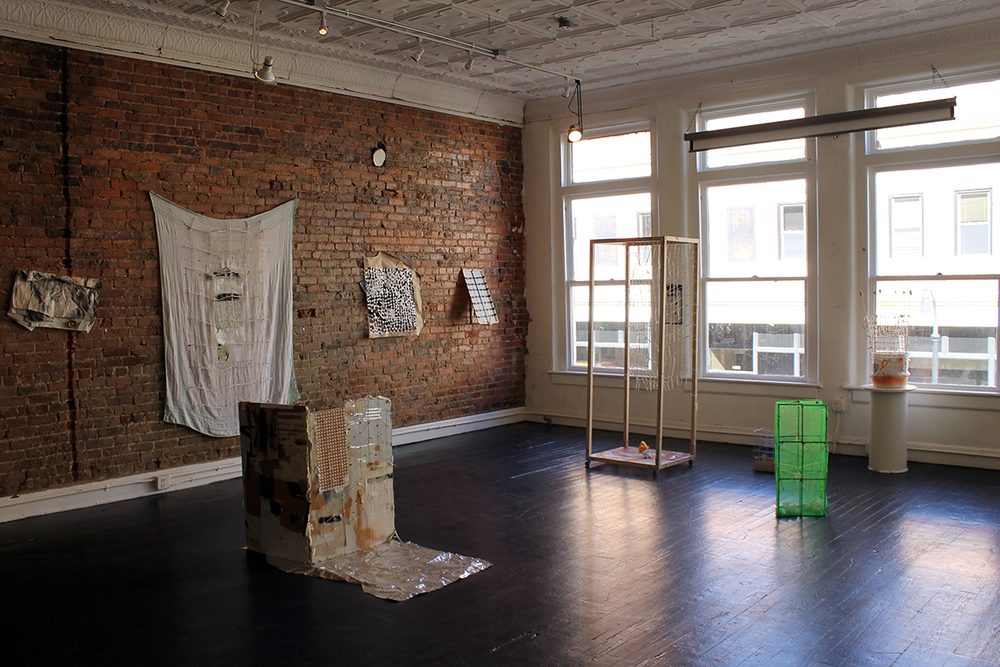 Change of Scenery: Collaborative Works  by Harriet Hoover & Amy S. Hoppe , i nstallation view