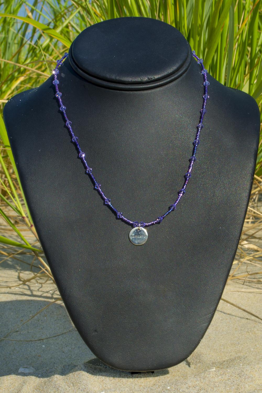 2023eeacab4b8f Sahasrara (Understanding and Will) Chakra Necklace — Unique Handmade ...