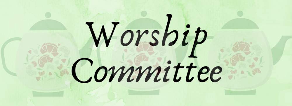 - The Worship Committee works for the congregation, to review all services in detail. They see what went well, and what needs improvement. They also assist the Worship Director when needed, especially for the many special services that Inglewood has.To learn more about the different ministries under the purview of the Worship Committee, click on the images above.