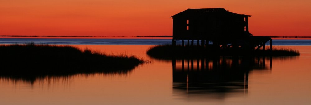 Fish Camp, Pamlico Sound