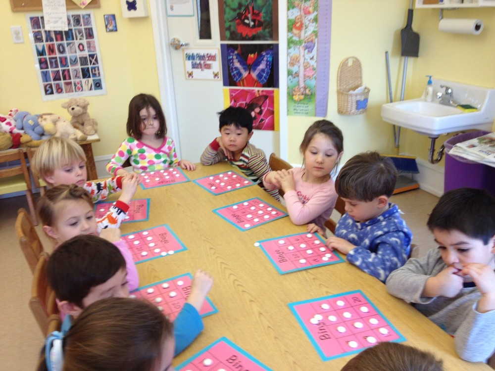 Bingo with numerals to 20