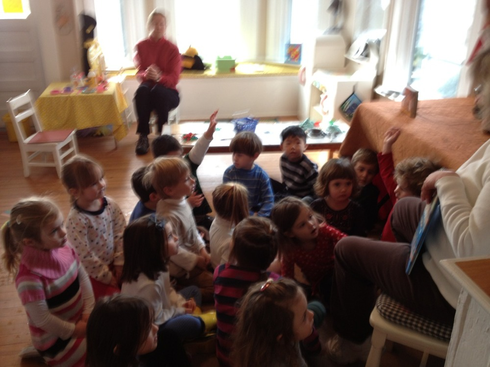 We visited the Bumblebee Room for a story.