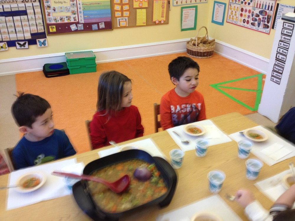 eating stone soup
