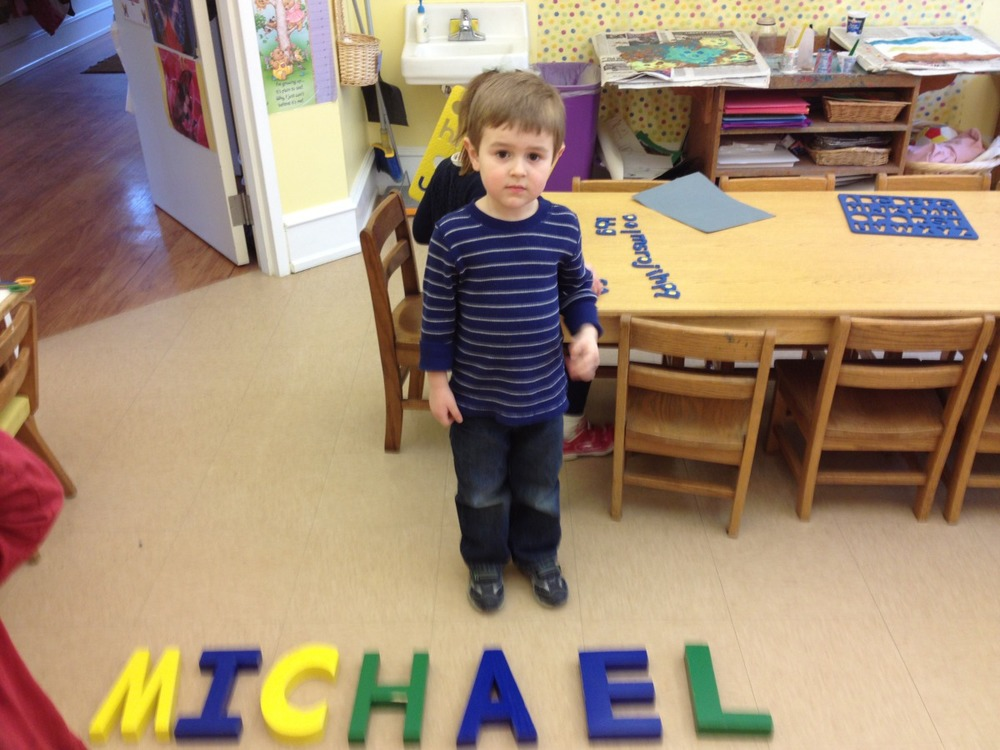 Michael spelled his name.