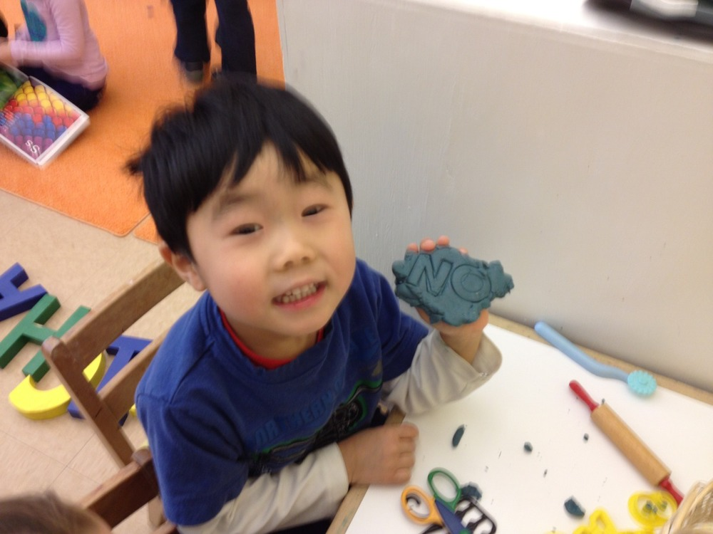 "Peter spelled ""no."""