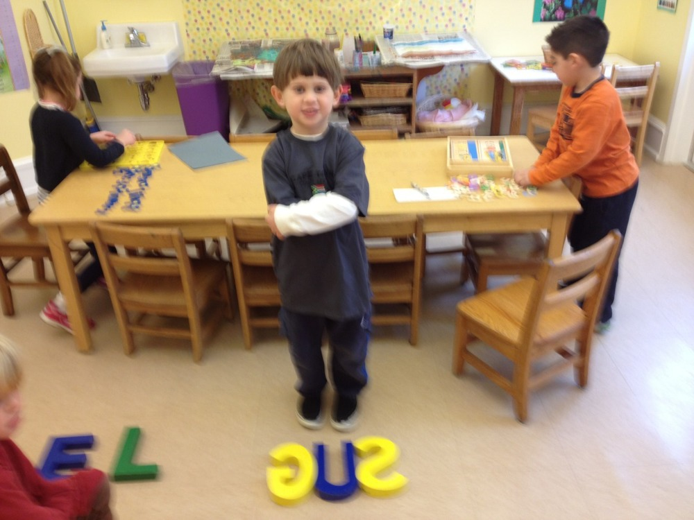 Gus spelled his name.