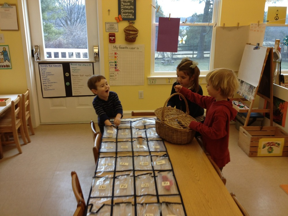 working on beginning sounds