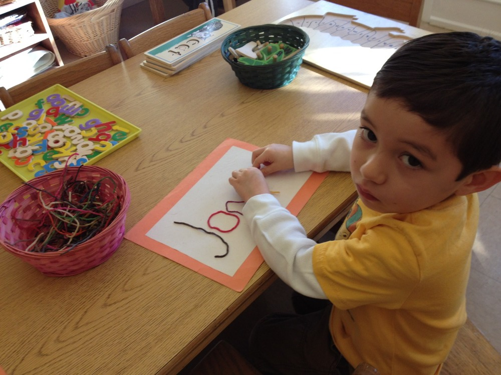 writing with wikki stix