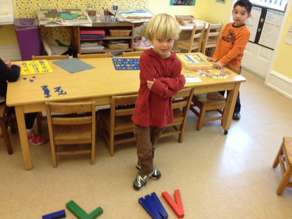 William found his initials.